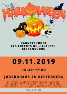 Halloween Party @ Jugendhaus Beetebuerg